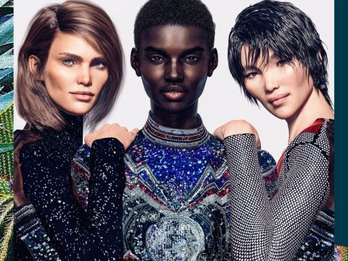 """Exclusive: Olivier Rousteing Introduces Balmain's First """"Virtual Army"""""""
