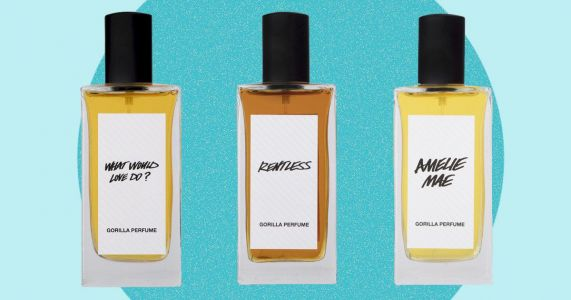 Lush releases a snazzy new perfume range