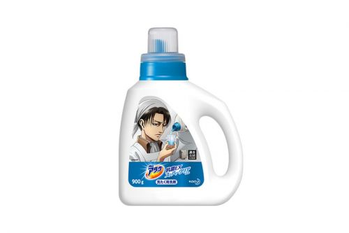 You Can Now Buy 'Attack On Titan' Laundry Detergent in Japan