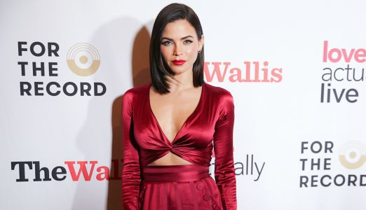 Jenna Dewan Stuns In Sexy Red Outfit On Date Night With New Boyfriend Steve Kazee