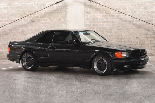 "This 1989 Mercedes-Benz 560 ""Pre-Merger"" AMG Is Now up for Auction"