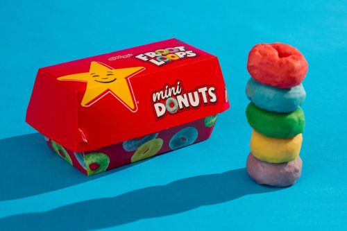 Carl's Jr./Hardee's Is Bringing Back Its Popular Froot Loops Mini Donuts