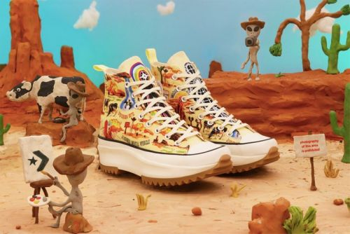 """Converse Uses Extra-Terrestrial Desert Scenes for """"Twisted Resort"""" Collection"""