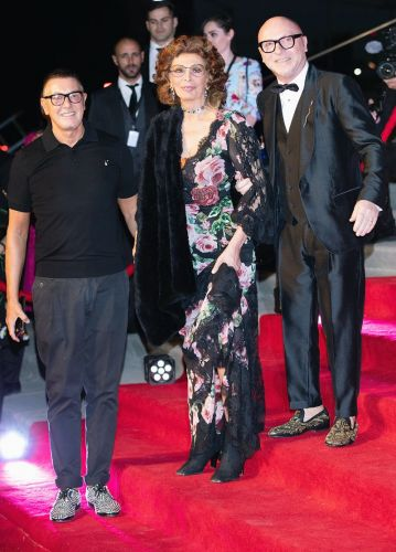 83-Year-Old Sophia Loren Stunned at Dolce & Gabbana's Mexico City Show