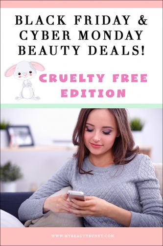 2018 Cruelty Free Black Friday & Cyber Monday Deal List