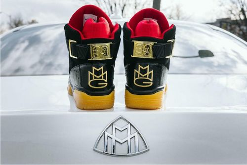 Rick Ross and Ewing Athletics Link on Luxe 33 Hi Sneaker