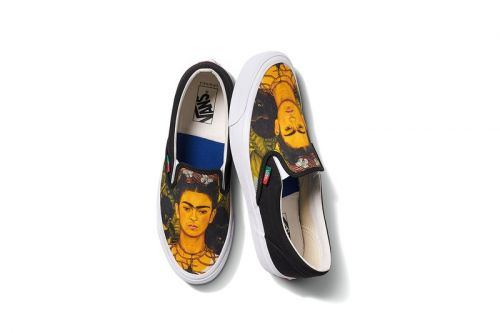 Vans Vault Honors Frida Kahlo in Collaborative Slip-On, Sk8-Hi & Authentic Drop