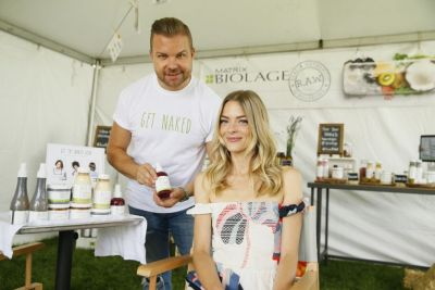 Jaime King Gets Naked with Biolage R.A.W. Styling