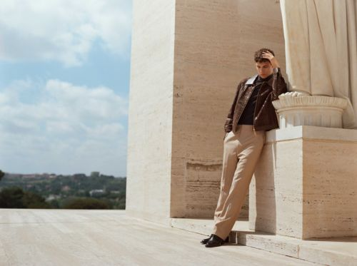 Mattia Travels to Rome in Fendi for Life & Style México