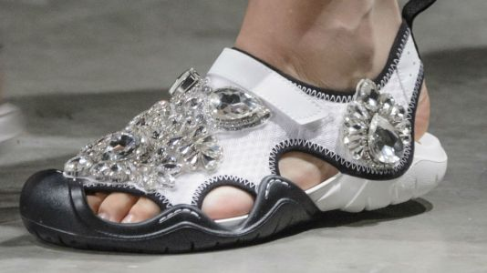 With High-End Collabs By Christopher Kane and Balenciaga, Crocs Is Banking On Its Unexpected Chicness