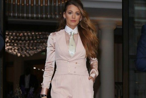 """Blake Lively Says There's a """"Double Standard"""" When People"""
