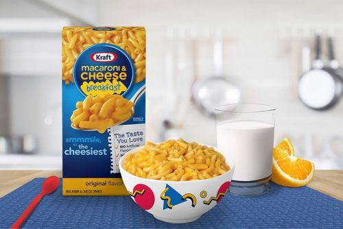 Kraft Rebrands Mac 'N Cheese As Breakfast Food