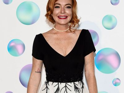 Lindsay Lohan Celebrates Her Friends' Wedding In Iceland