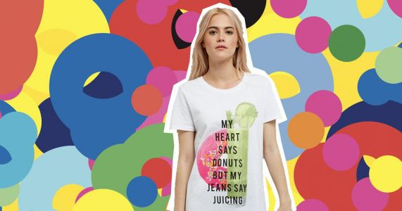 People are not impressed with New Look's juicing themed night shirt