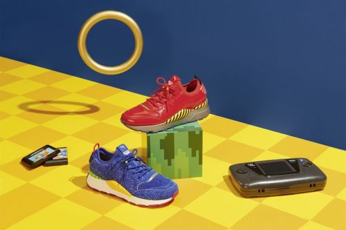 The PUMA x 'Sonic The Hedgehog' Collaboration Finally Has a Release Date