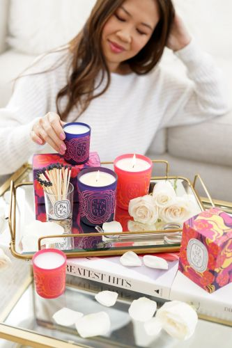 Diptyque Roses Collection: Centifolia + Damascena Candles