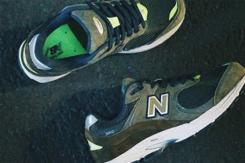 """The New Balance 2002R Emerges With """"Camo Green/Volt"""" Theme"""