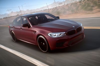 The New BMW M5 Model Is Revealed in 'Need For Speed Payback'