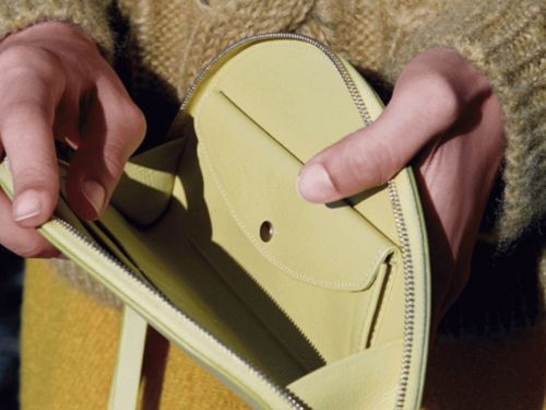 Now You Can Match Your Wallet To Your Mansur Gavriel Bag