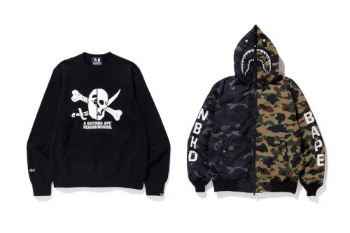 BAPE & NEIGHBORHOOD Celebrate HOODS Hong Kong Anniversary With Exclusive Collab