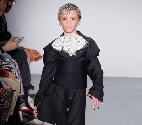 10-year-old 'drag kid' completely steals the show at New York Fashion Week