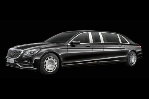 Mercedes-Maybach Reveals Updated Pullman Limousine Model for 2019