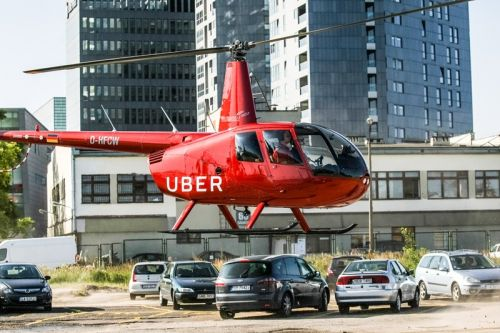 Uber Will Begin Giving Helicopter Rides Around NYC This Summer