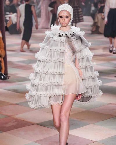 Dior's Haute Couture circus just pulled into Paris