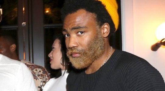 Everyone needs to calm down about Donald Glover's bleached beard