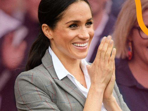 Meghan Markle Wore A Blazer From BFF Serena Williams' Clothing Line