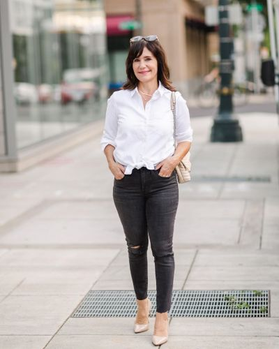 """This Simple Trend Will Make a Basic Outfit Feel Less """"Plain"""