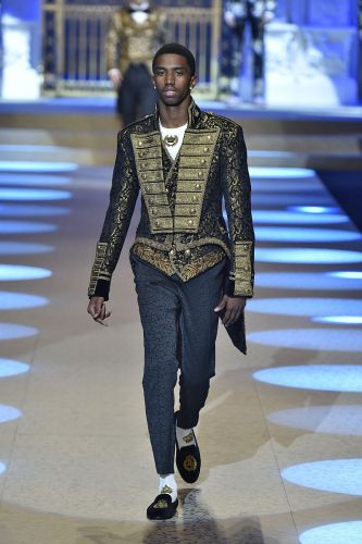 The Coolest Celebrity Sons Just Walked the Runway at Dolce & Gabbana