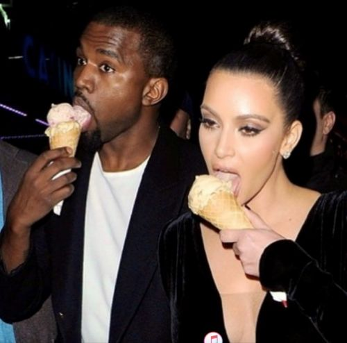Kanye West broke his social media hiatus for Valentines Day