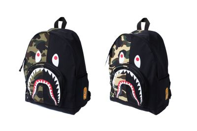 BAPE Is Dropping a 1ST CAMO Shark Day Pack for Your Summer Travel Plans