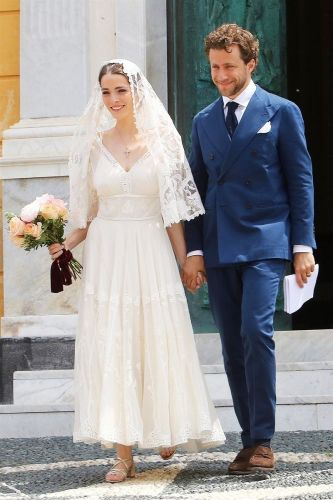 Anna Wintour's Daughter Wore the Prettiest Dress for Her Second Wedding in Italy
