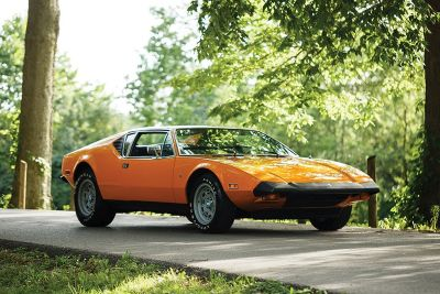 America's Last-Ever De Tomaso Pantera Delivery Is Going Up for Auction