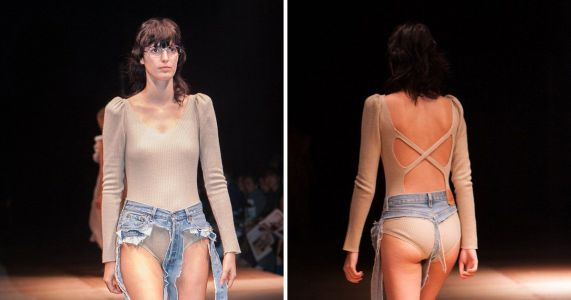 Thong jeans were always going to happen, so you might as well just accept them now