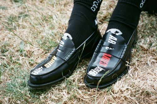 Aries & College Shoes Partner on Reworked Moccasin