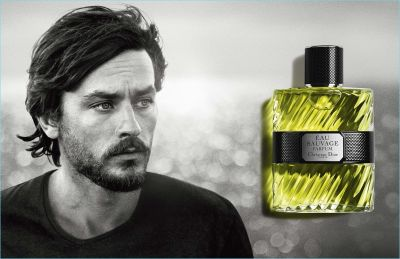Dior Eau Sauvage Campaign Features Young Alain Delon