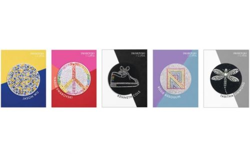 Swarovski launches crystallized fashion patches made by five designers
