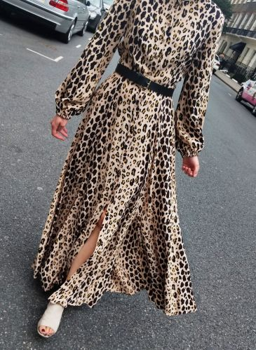 This Leopard-Print Dress Has Been One of the Best-Selling Items of the Year