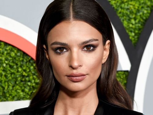 Emily Ratajkowski Had A Surprise Wedding In a $200 Zara Pantsuit