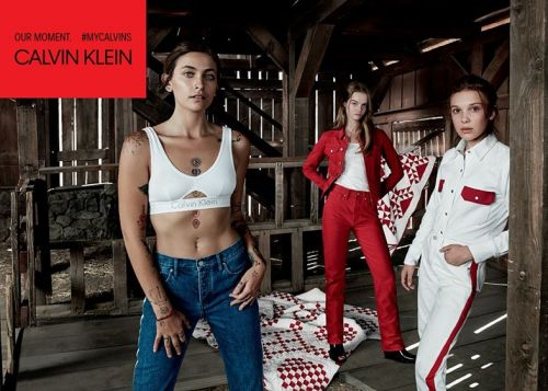 Millie Bobby Brown and Paris Jackson join the all-star Calvin Klein lineup