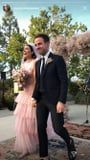 Mandy Moore Matched Her Makeup to Her Pink Wedding Dress, and It Was So Dreamy