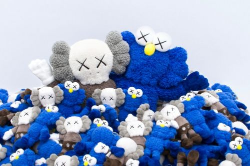 """A Full Look at the Merch Range for KAWS' New """"SEEING/WATCHING"""" Permanent Art Installation"""