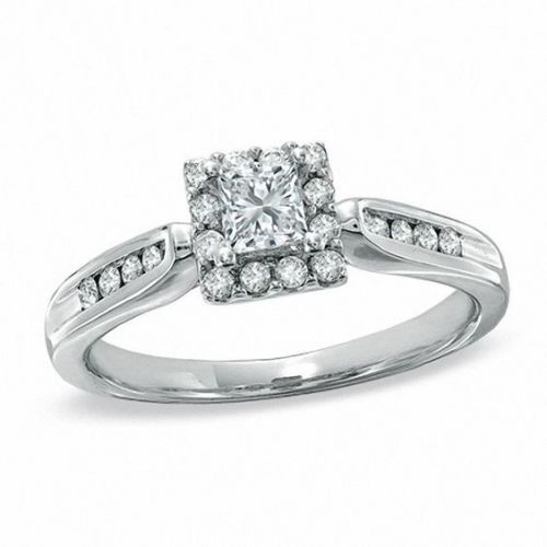 25 Princess-Cut Engagement Rings That Are Too Pretty to Resist