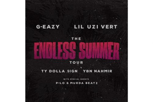 G-Eazy Announces 'The Endless Summer Tour' with Lil Uzi Vert, Ty Dolla $ign & YBN Nahmir