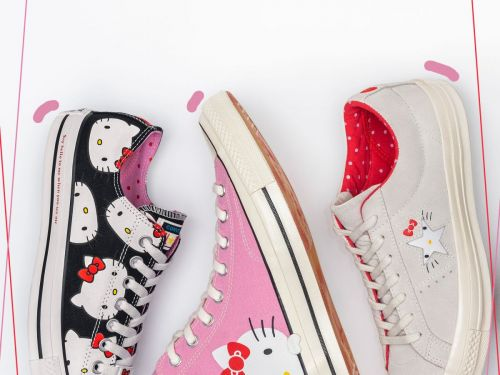 Hello Kitty's Converse Collaboration Is Purrfect