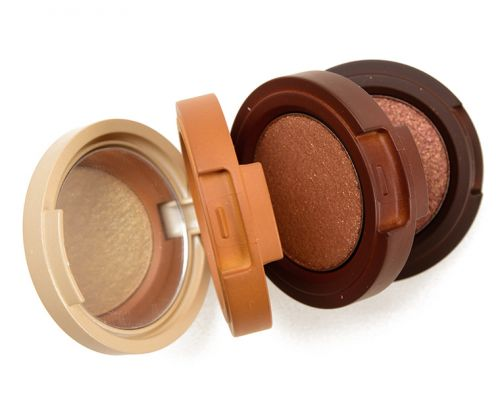 Kaja Toasted Caramel Shimmer Eyeshadow Trio Review & Swatches