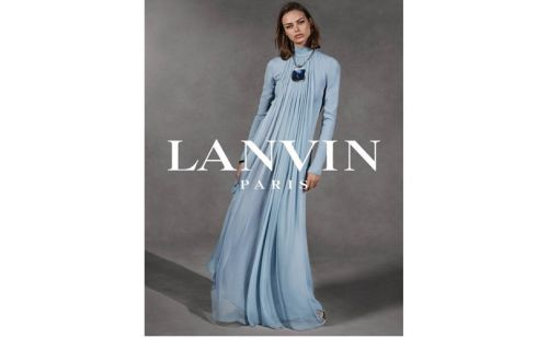 Lucas Ossendrijver resigns from the role of Creative Director at Lanvin